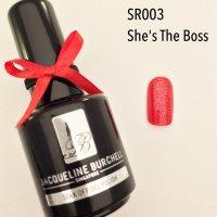 【セルフネイルに簡単!】カラージェル SR003 She'S The Boss