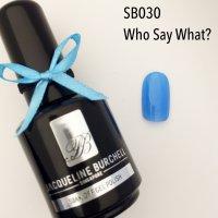 【セルフネイルに簡単!】カラージェル SB030 Who Say What?