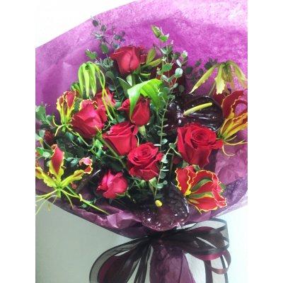 お祝い用 お花のオーダーメイドギフト 15000円セット (花束)