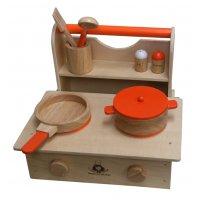 木製ままごと キッチンセット