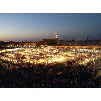 モロッコ:マラケシュ、エッサウィラ・...