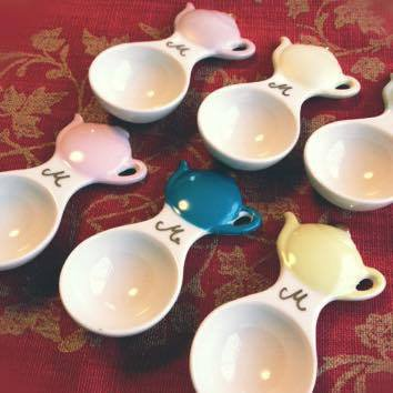 Salon de M オリジナルティースプーン 陶器