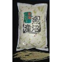 魚沼産コシヒカリ・棚田米(玄米)3キロ