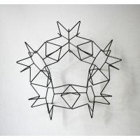 平野米三 「5人の天使」 金属彫刻