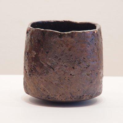 テトツチト 「山眠る」 陶器・ローリング焼酎グラス
