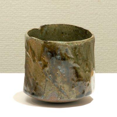 テトツチト 「長き夜」 陶器・ローリング焼酎グラス