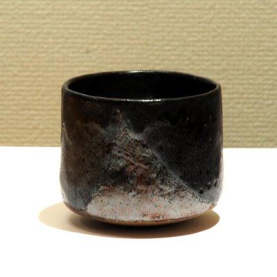 テトツチト 「炉明り」 陶器・ローリング焼酎グラス
