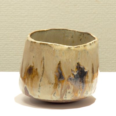 テトツチト 「霾る」 陶器・ローリング焼酎グラス