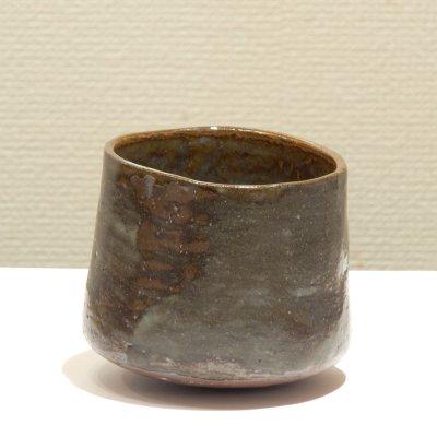 テトツチト 「秋うらら 小」 陶器・ローリング焼酎グラス