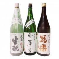 福島県のお酒セット(大七、金澤屋、写楽)