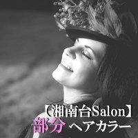 【湘南台Salon&出張】部分ヘアカラー(60分)