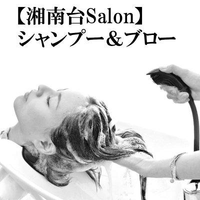 【湘南台Salon&出張】シャンプー&ブロー(40分)