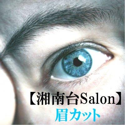 【湘南台Salon&出張】眉カット(15分)