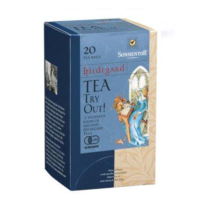 「ヒルデガルトのお茶アソート」オーガニックハーブティー ヒルデガルドシリーズ20袋入り SONEENTOR