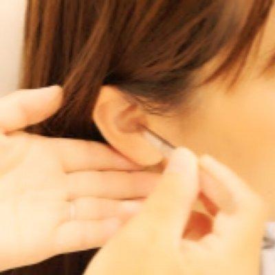 耳つぼ及び店頭で受けられるサービスに使える500円毎チケット(3,000円~)