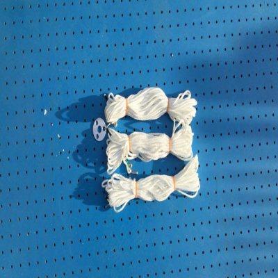 ステーロープセット - 8m×3本 & ステー用のリング -の画像1