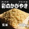 玄米10kg 彩のかがやき