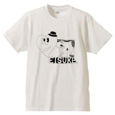 映介Tシャツ(白/ピンク)の画像1