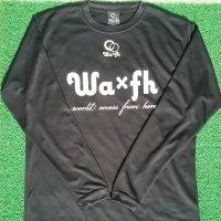 Wa×fh ダブルロゴ 長袖プラシャツ
