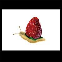 ポストカード【苺でんでん】