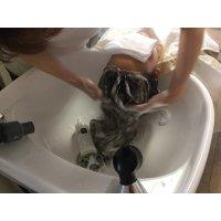 ヘッドスパ50分リッチコース(頭皮と髪の本格温浴ケアでストレスを取り去り美しい髪を取り戻す頭皮と髪のエステです。「