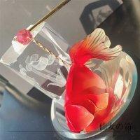 《10%OFF》カンザシ【縁日】ー金魚