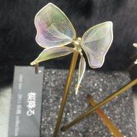 カンザシ【ひらり舞う】ー胡蝶(緑)