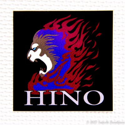 HINOステッカー(大)