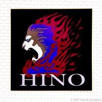 HINOステッカー(小)