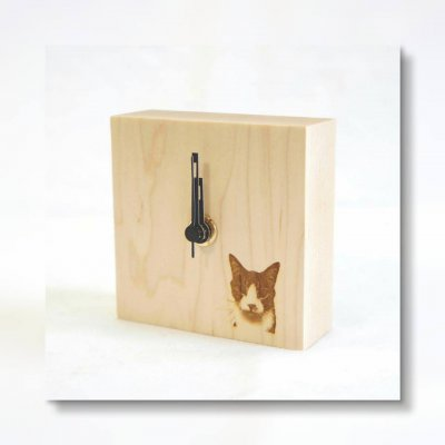 Kobito「愛する子どもやペットの写真を刻印!木のオリジナルプチ時計」オーダー券