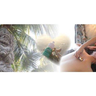【店頭払いのみ】ハティ鈴木盟子のオリジナル万能ボカシオイル蒸しセラピー130分 バリの恵みたっぷり♬...
