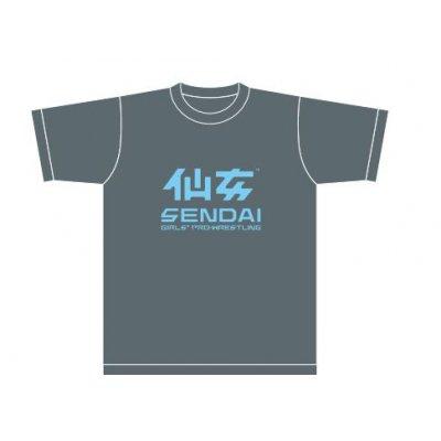 仙女定番Tシャツ(ネイビー×ブルー)