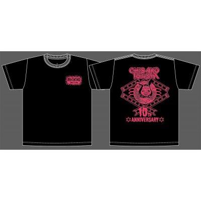 DASH・チサコ 10周年記念Tシャツ!