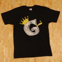 viccore×GANG-O コラボTシャツ BLACK