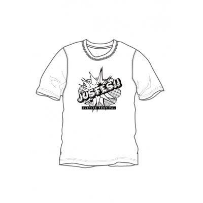期間限定!!JUSFES Tシャツ ホワイト