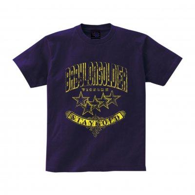 ☆☆☆☆☆数量限定!!先行予約☆☆☆☆☆ viccore STAYGOLD Tシャツ Purple