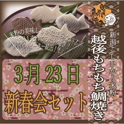 越後もちもち鯛焼きミニ(3/23新春会セット)