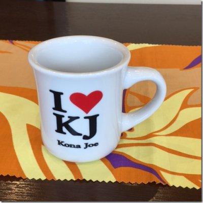 I♡KJコーヒー マグカップ
