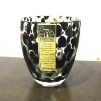 GLASS CUP GENTLEMAN TORTOISE  BK