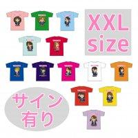 XXLサイズ(サイン有り):推しメンキャラTシャツ / 萌えこれ学園