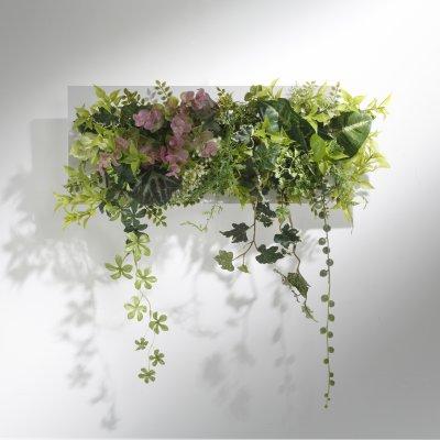 グリーンウォール アーティフィシャルフラワー(造花)壁掛けタイプの画像1