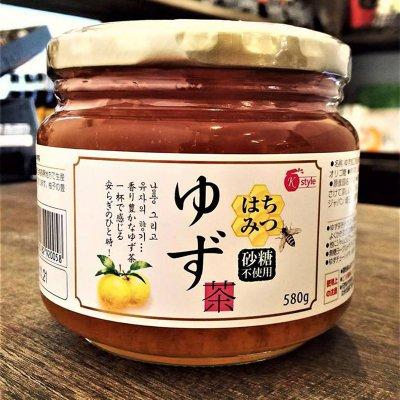 はちみつ 柚子茶 韓国産 砂糖・保存料・食品添加物不使用 日本人のこだわり 580g