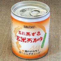 キッスビー健全食 五穀あずき玄米おかゆ1缶