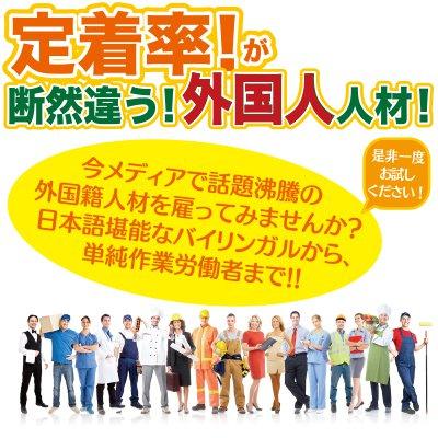 日本語と英語が話せる外国人人材紹介