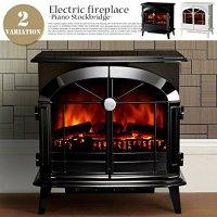 ポータブル型電気暖炉 ピアノ ストックブリッジ SKG20 ディンプレックス(Dimplex) ホワイト
