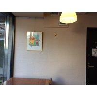 【左の壁1500mm】ギャラリー展示、1か月、お好きなドリンク1杯付