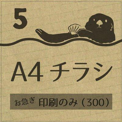 5.【お急ぎ】印刷(300枚)