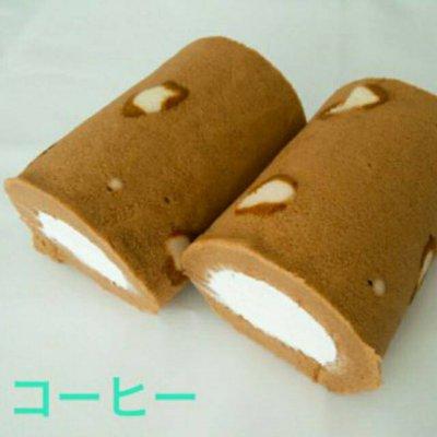 ミニロールケーキ(コーヒー)