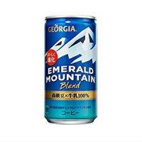 【送料無料】ジョージア エメラルドマウンテンブレンド 185g 【30缶セット】缶コーヒー