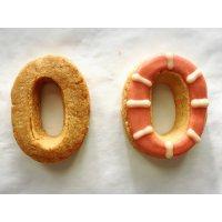 【グルテンフリー・卵不使用】アイシングクッキー ナンバー0(1枚入り)